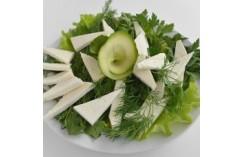 Сыр брынза с зеленью